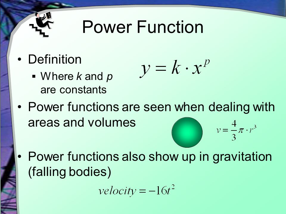 Power Function Definition