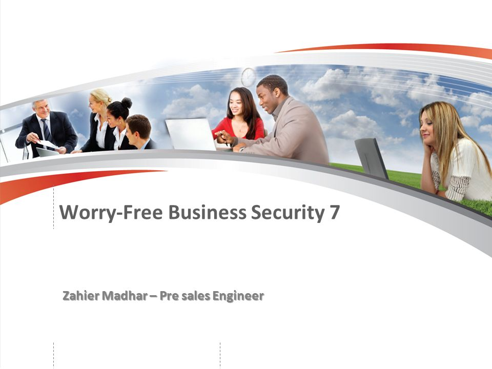 Worry-Free Business Security 7