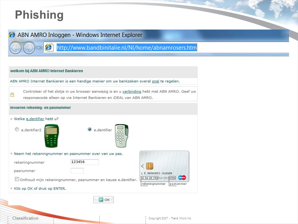 Phishing Classification