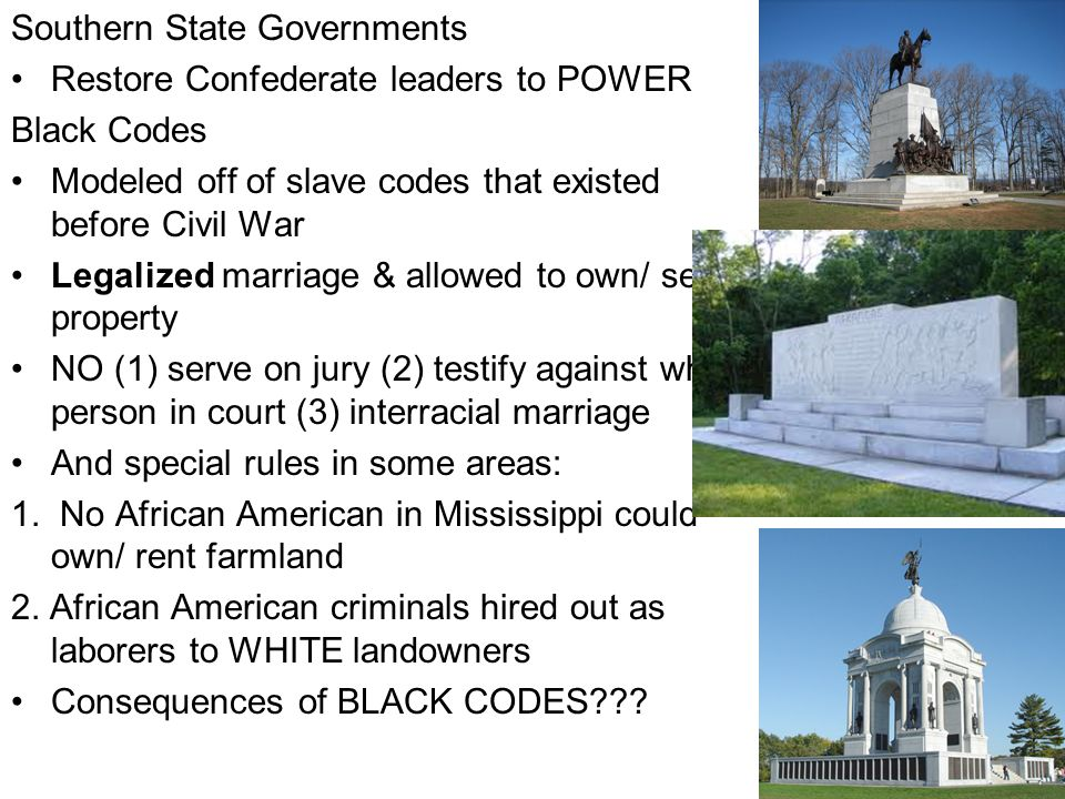 Southern State Governments