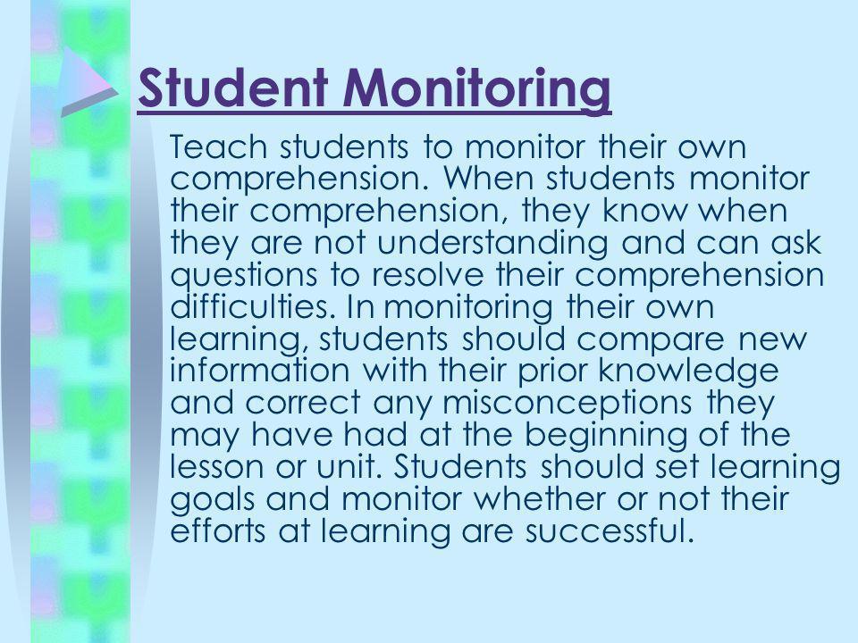 Student Monitoring