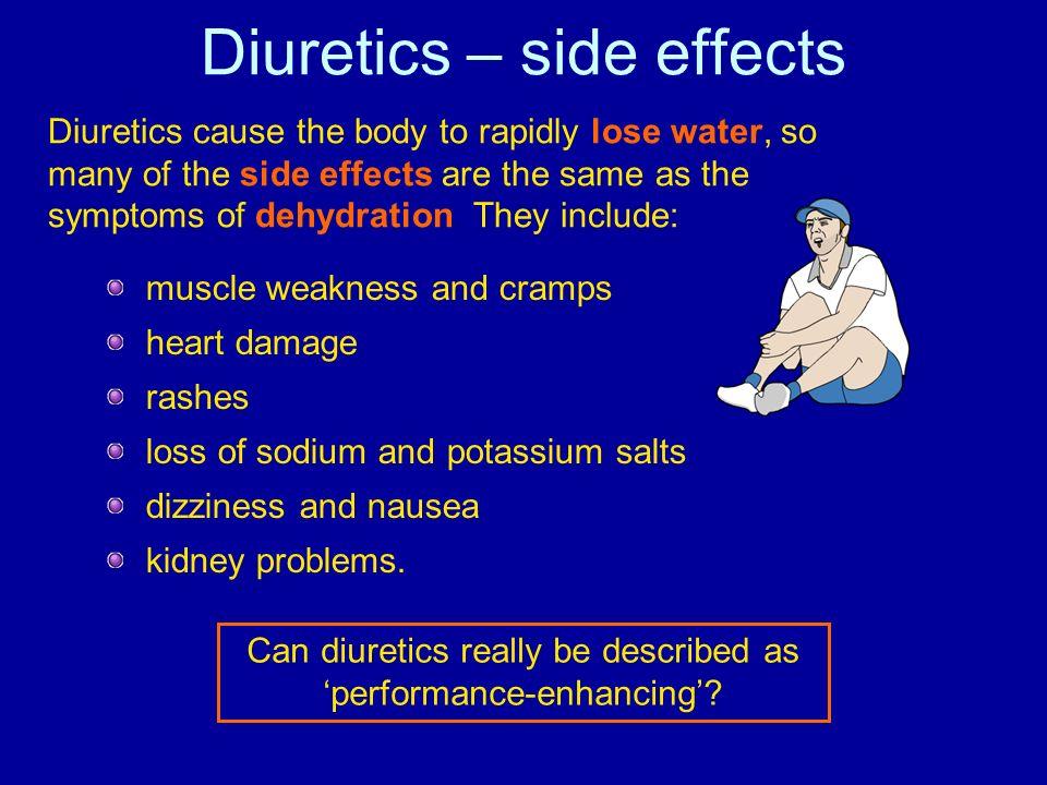 Diuretics – side effects