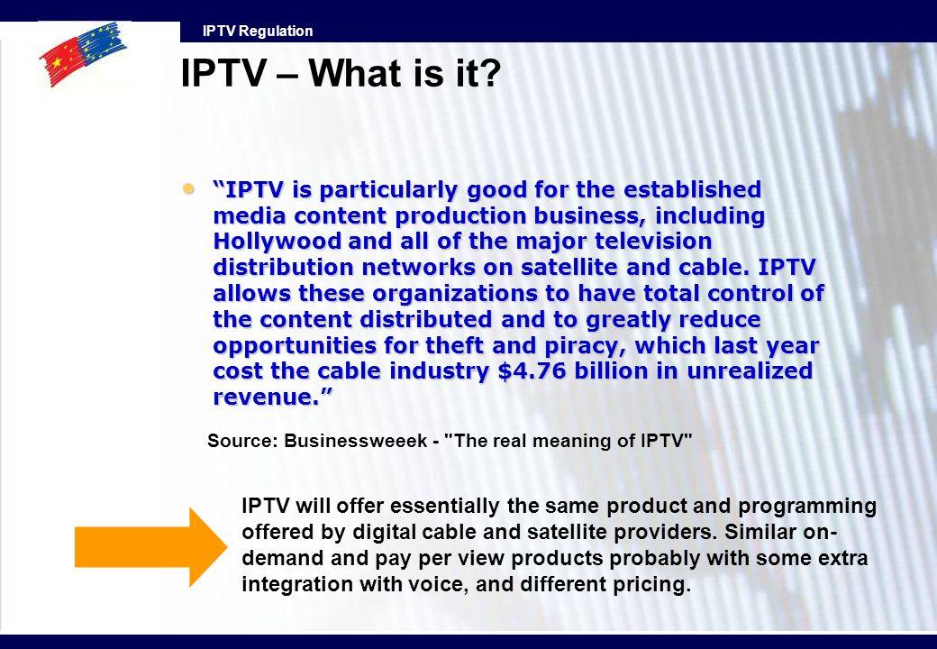 IPTV – What is it