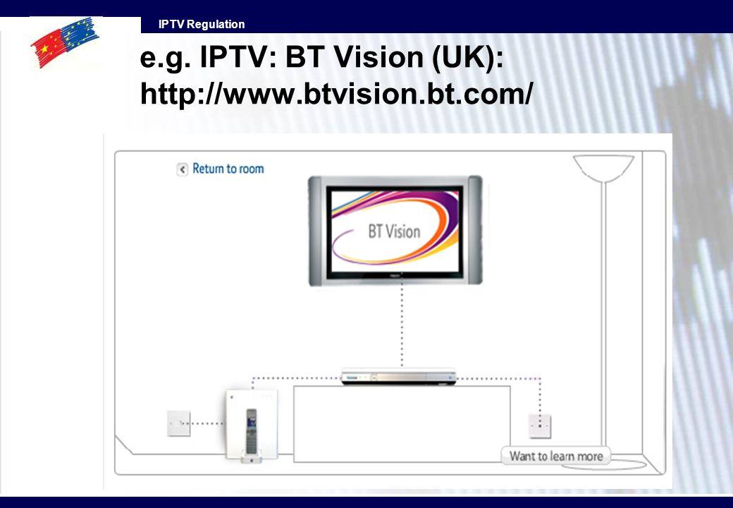 e.g. IPTV: BT Vision (UK): http://www.btvision.bt.com/