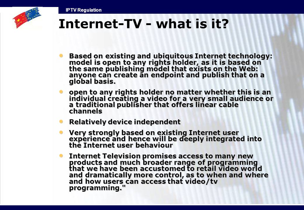 Internet-TV - what is it
