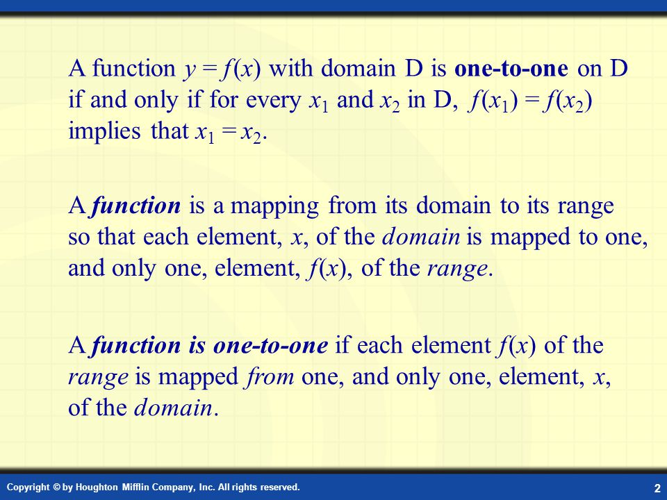 Definition: Functions