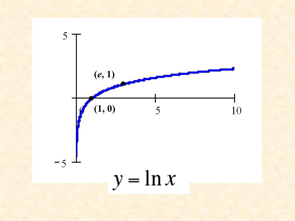 (e, 1) (1, 0)