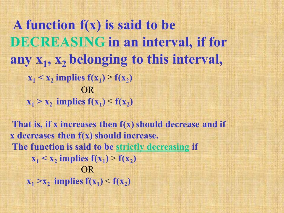 x1 < x2 implies f(x1) ≥ f(x2)