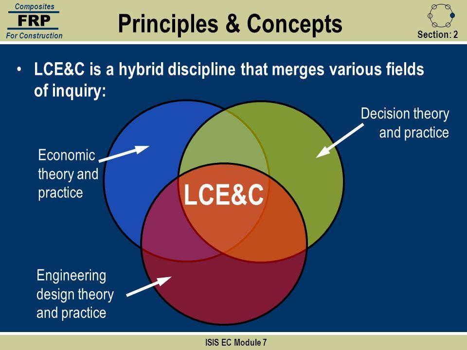 LCE&C Principles & Concepts