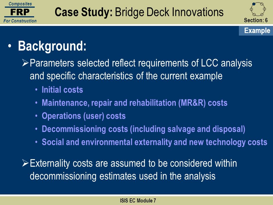 Case Study: Bridge Deck Innovations