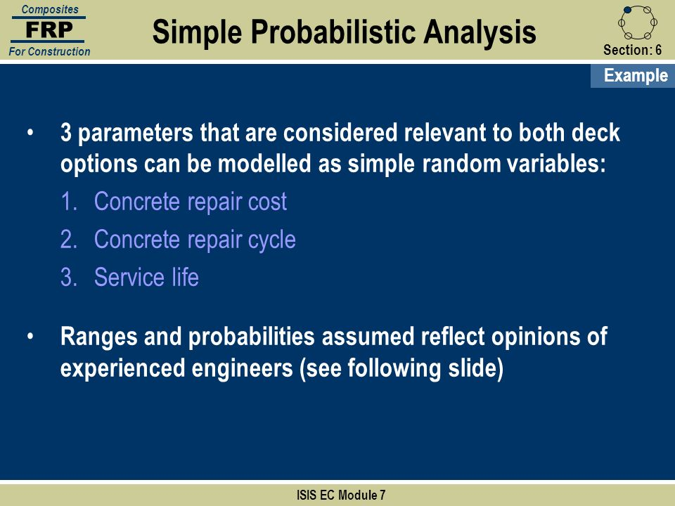 Simple Probabilistic Analysis