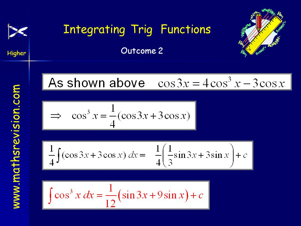 Integrating Trig Functions