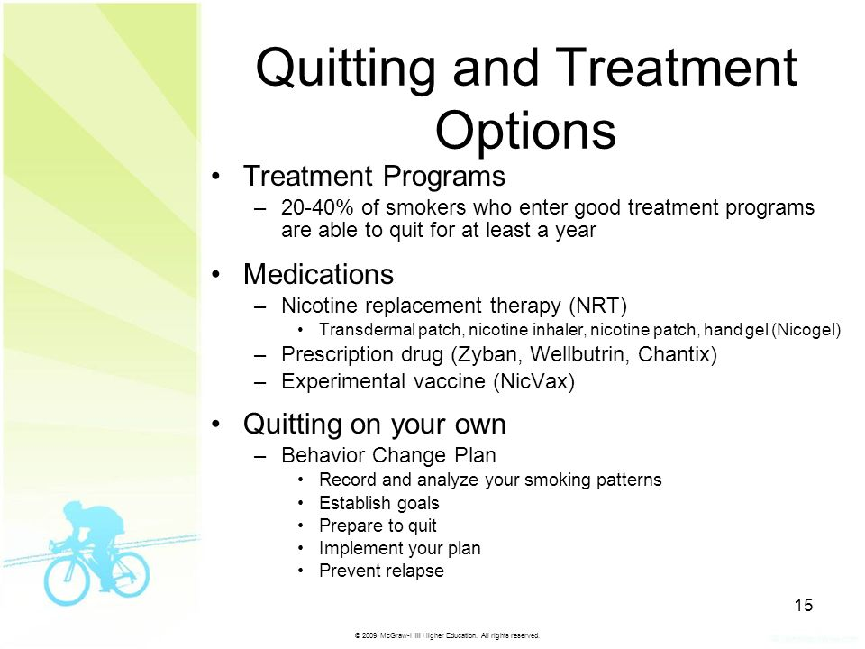 Quitting and Treatment Options