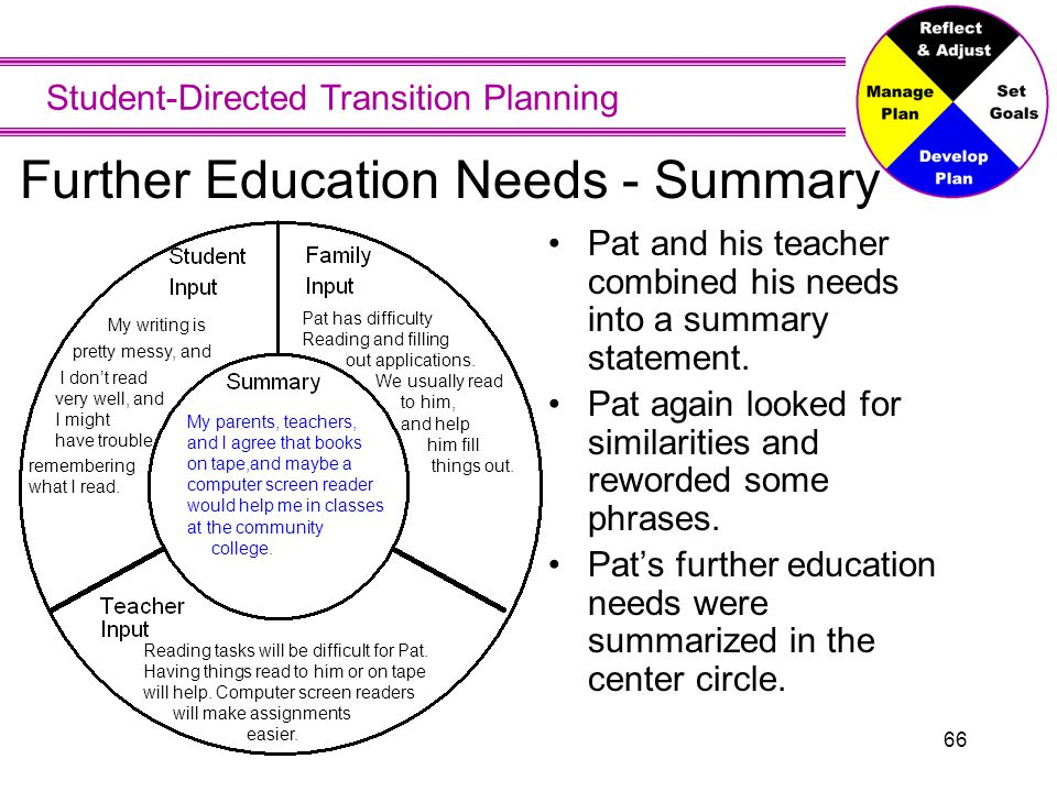 Further Education Vision