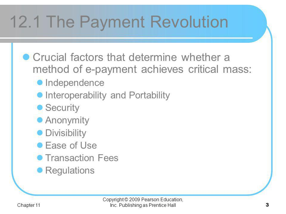 12.1 The Payment Revolution