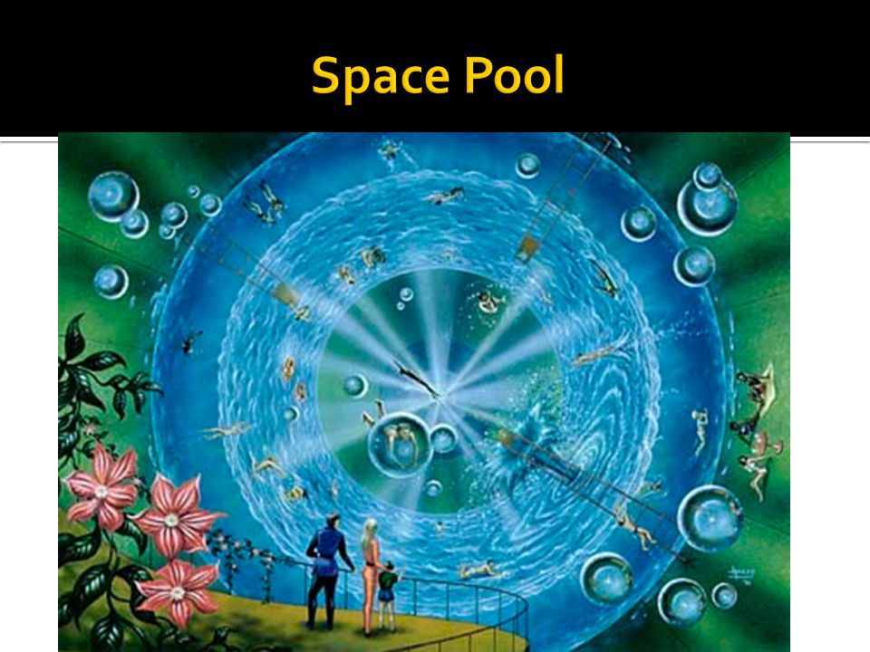 Space Pool Lunar Hotels