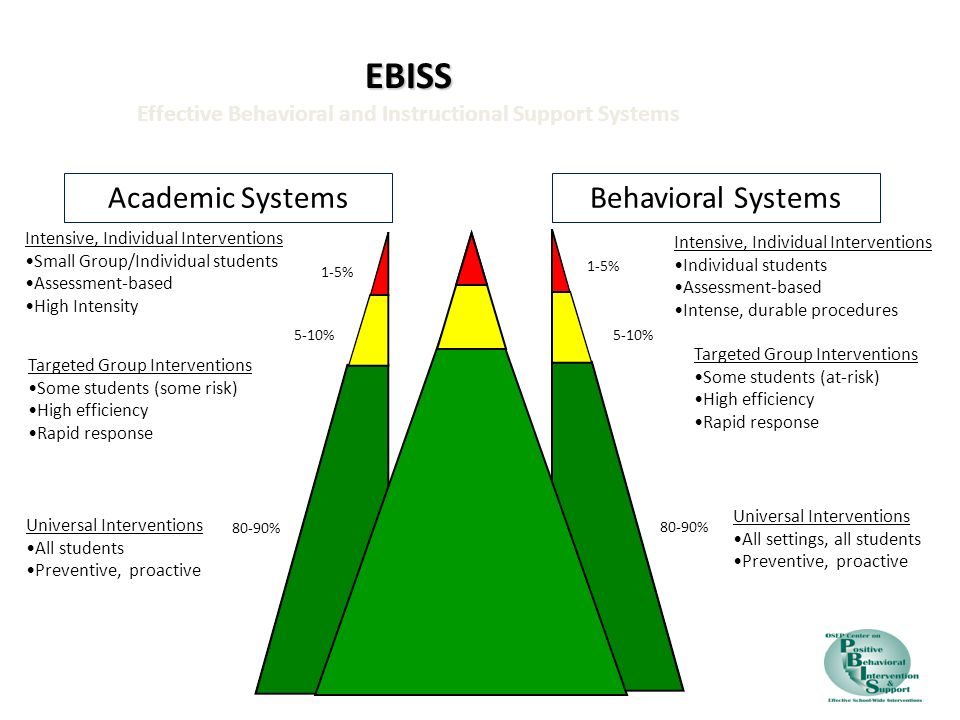 EBISS Effective Behavioral and Instructional Support Systems