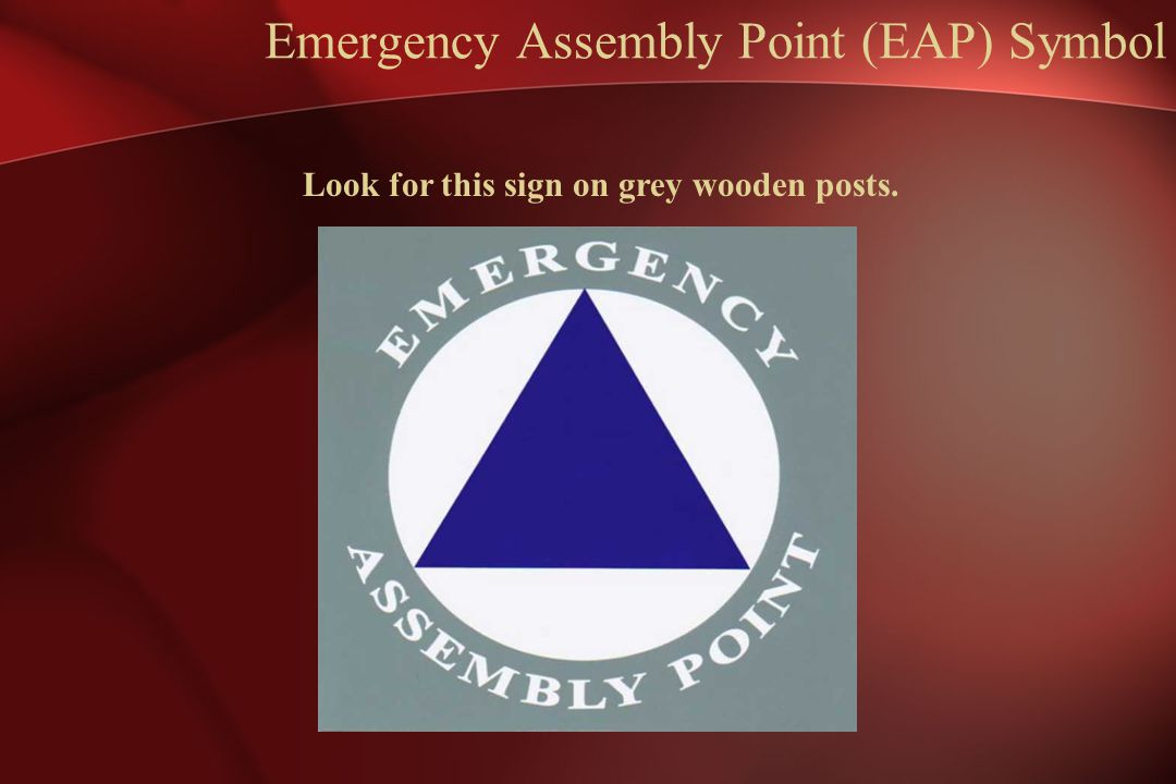 Emergency Assembly Point (EAP) Symbol