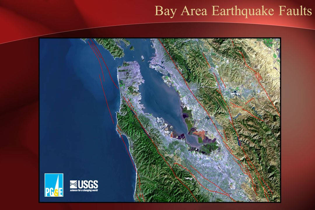 Bay Area Earthquake Faults
