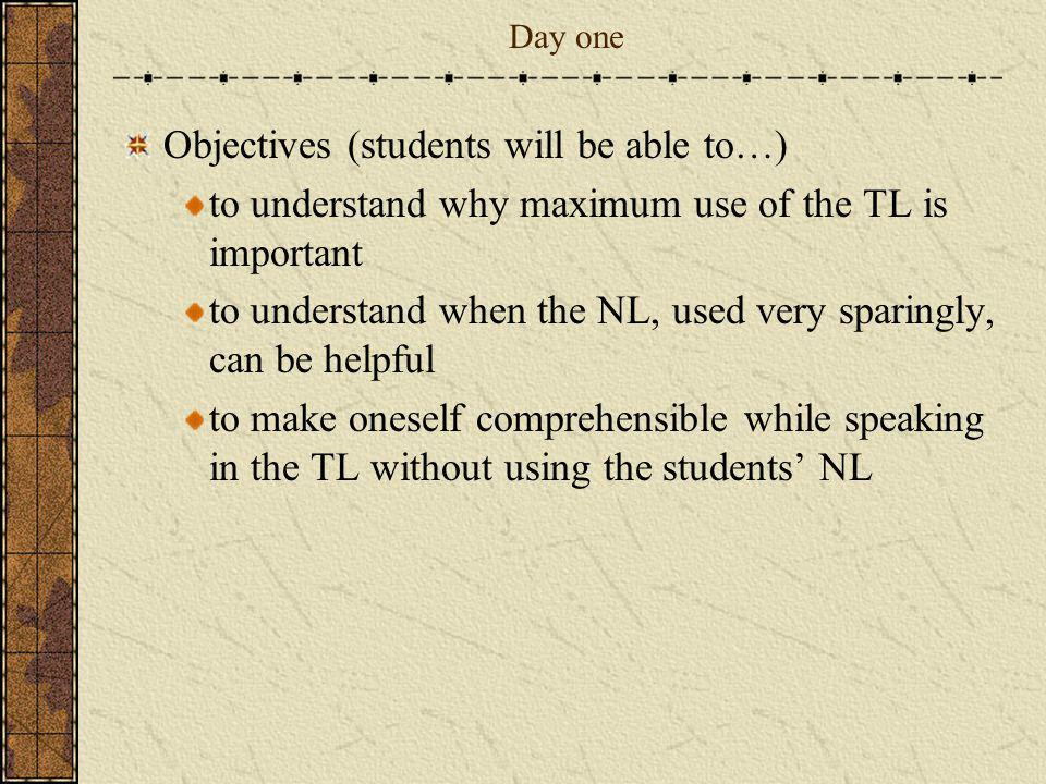 Objectives (students will be able to…)