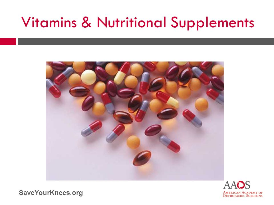 Vitamins & Nutritional Supplements