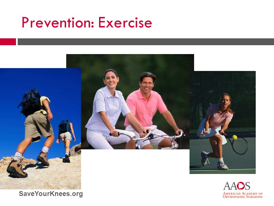 Prevention: Exercise