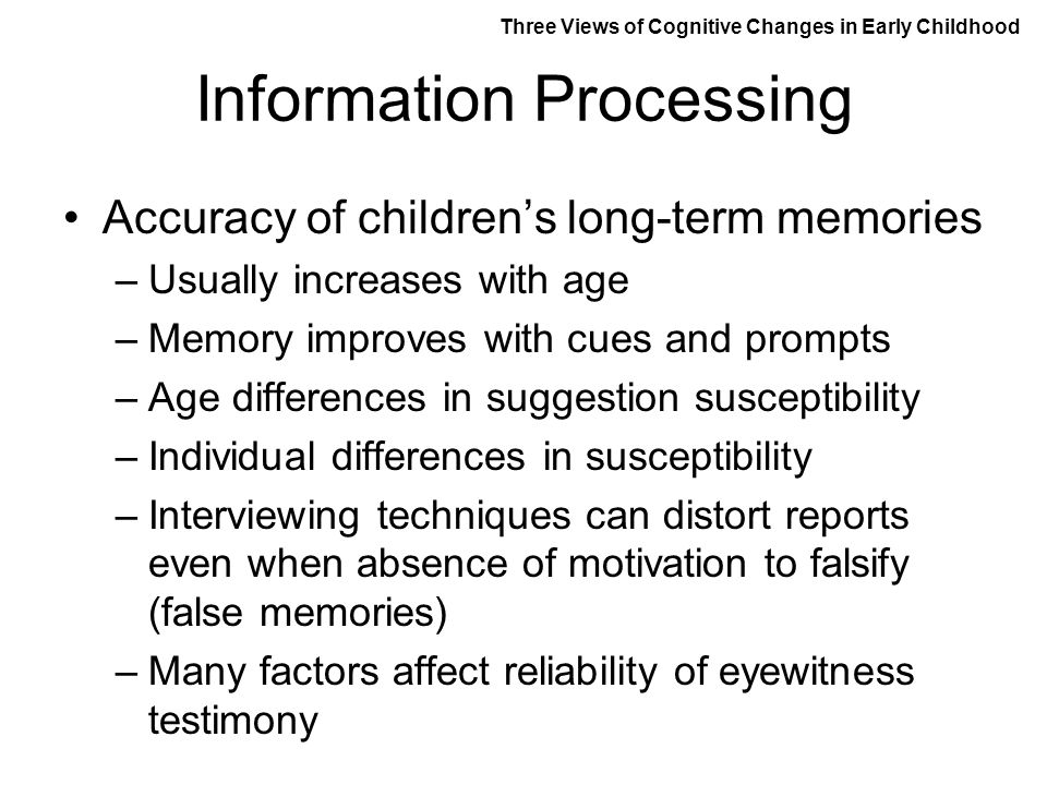 Age differences in eyewitness testimony