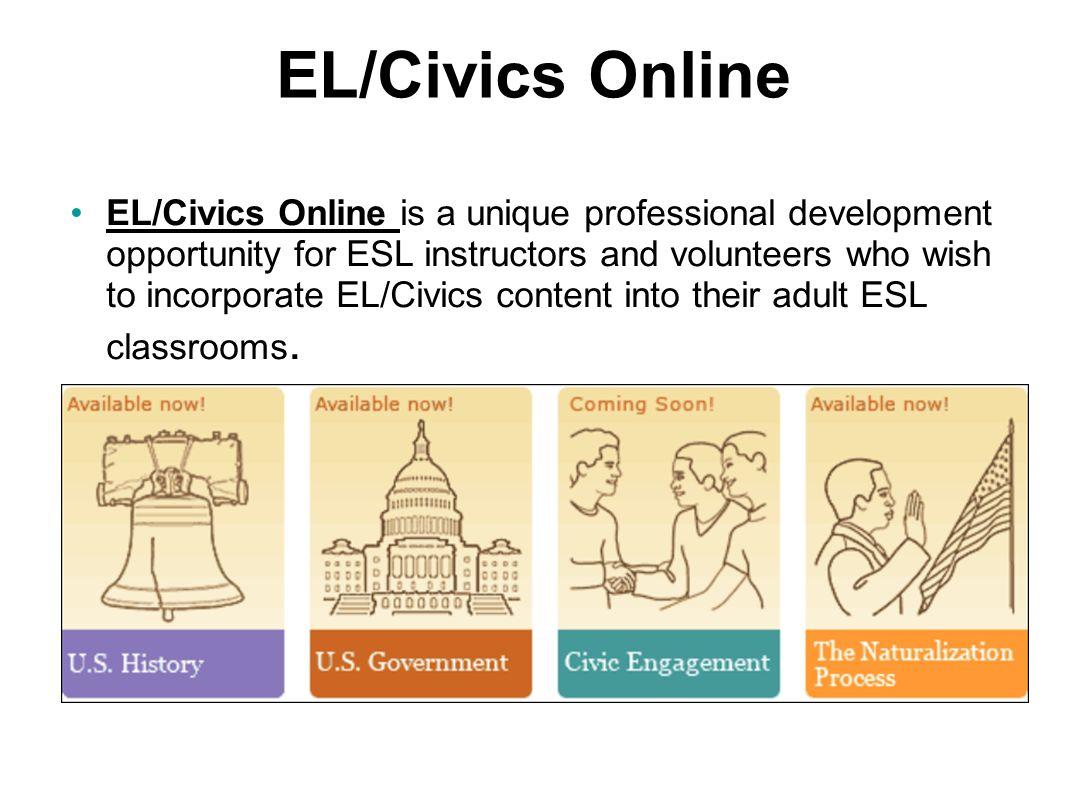 EL/Civics Online