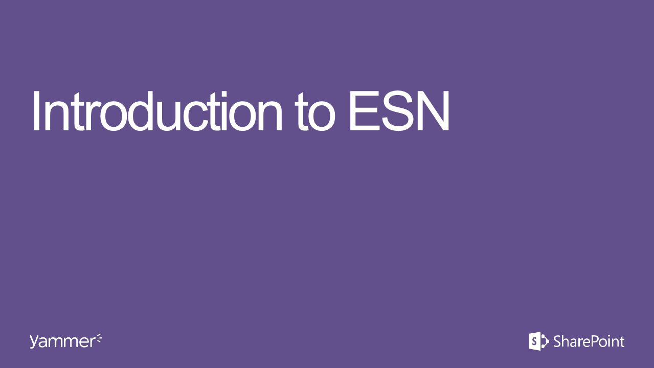 Introduction to ESN This section takes ~15 minutes