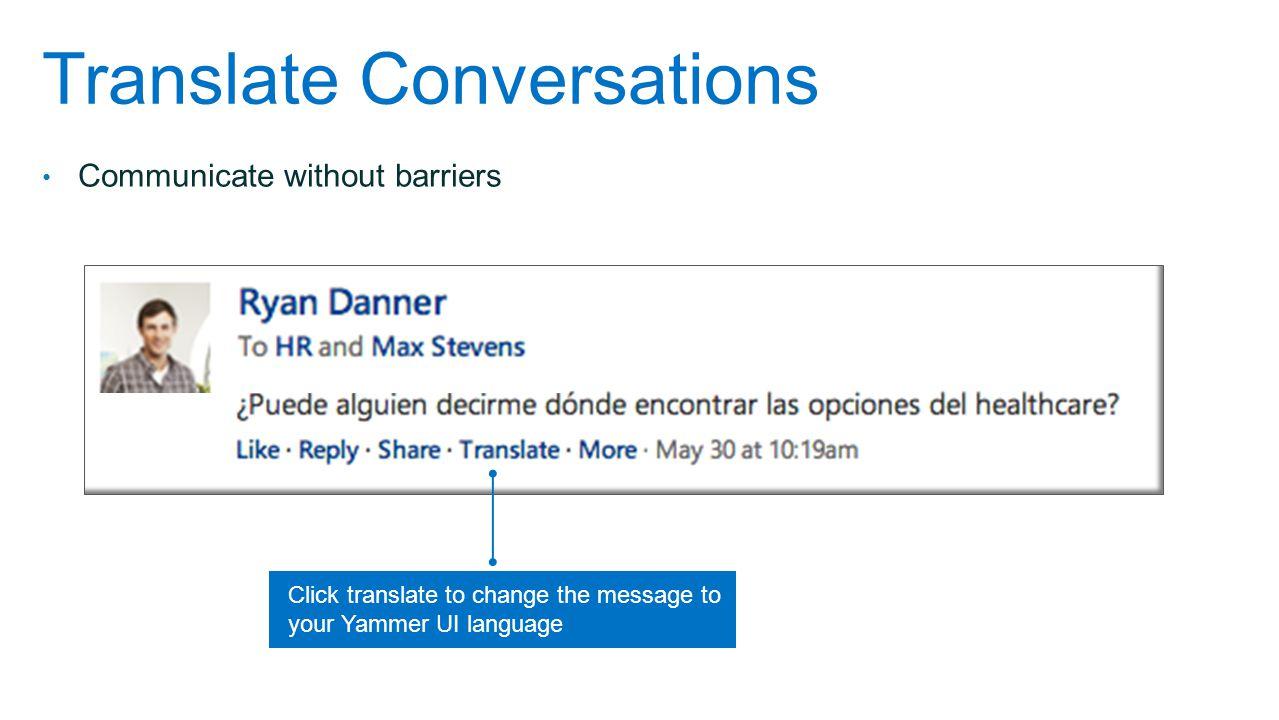 Translate Conversations