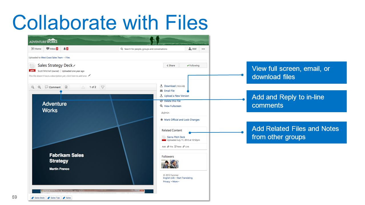 Collaborate with Files