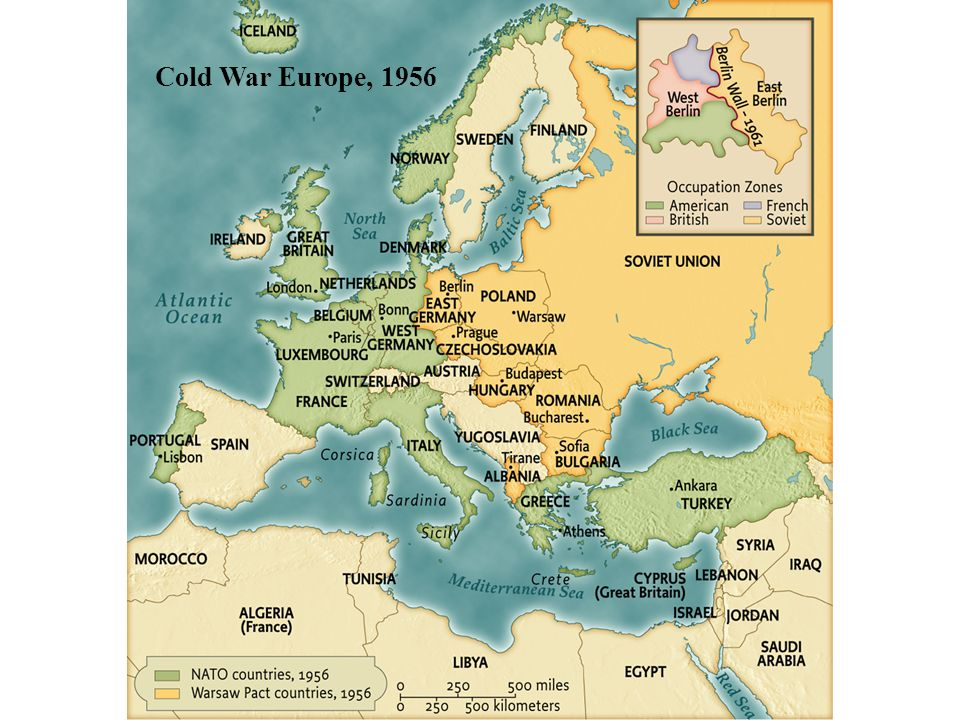 Cold War Europe, 1956 • pg. 902 Cold War Europe, 1956