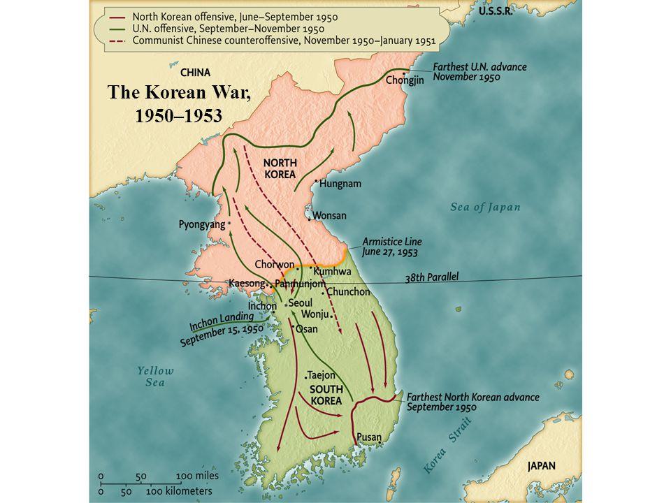 The Korean War, 1950–1953 • pg. 904 The Korean War, 1950–1953