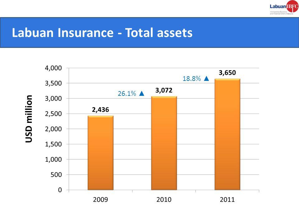 Labuan Insurance - Total assets CONVENIENT.
