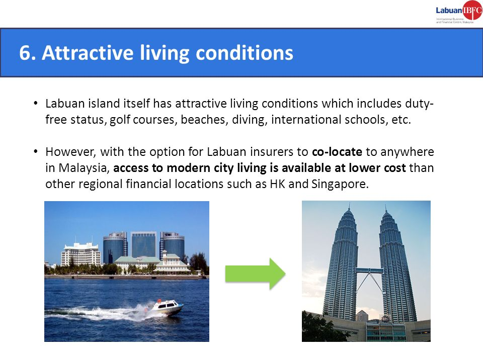 6. Attractive living conditions CONVENIENT.