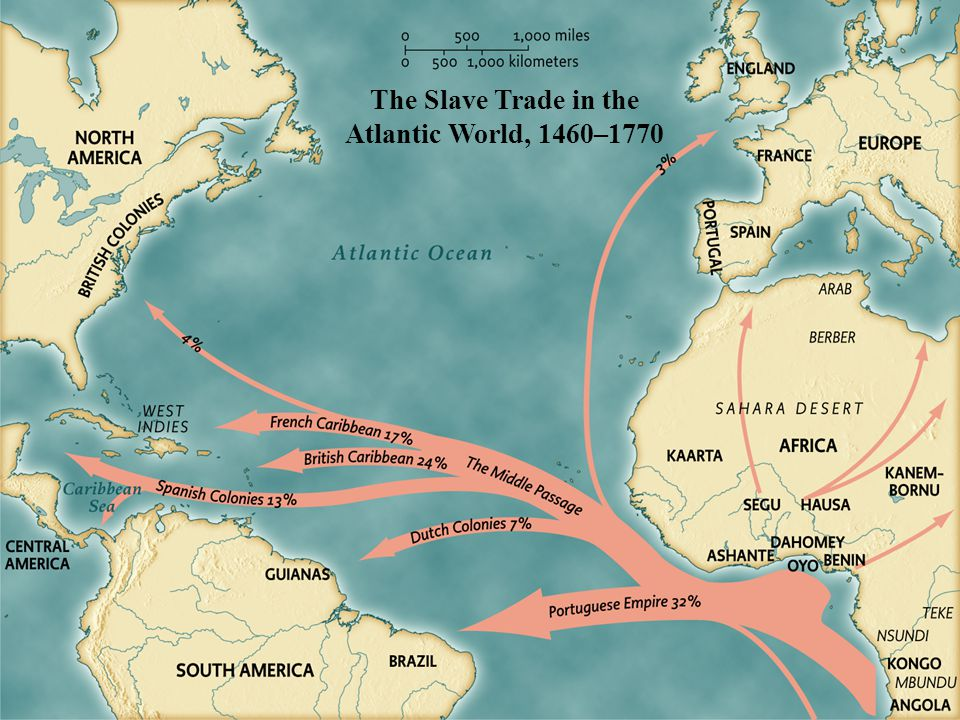 The Slave Trade in the Atlantic World, 1460–1770 • pg. 126