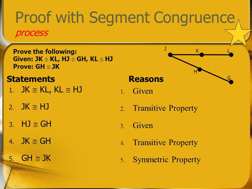 Proof with Segment Congruence process