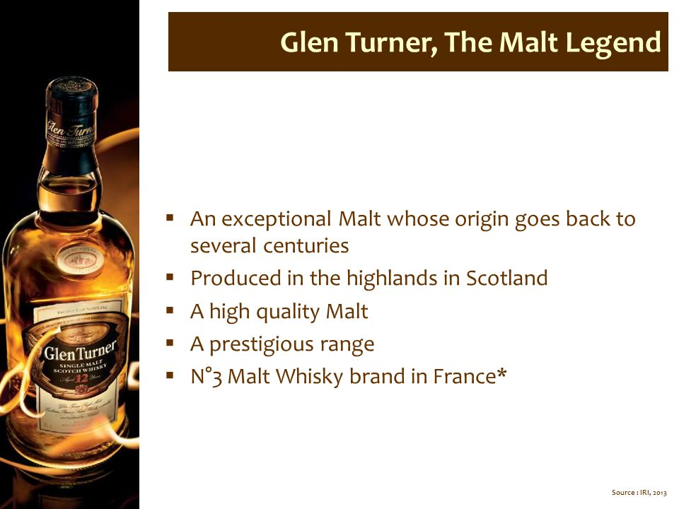 Glen Turner, The Malt Legend
