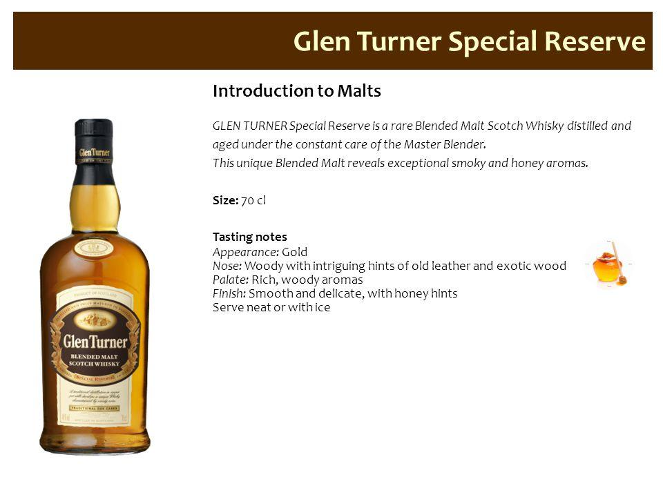 Glen Turner Special Reserve