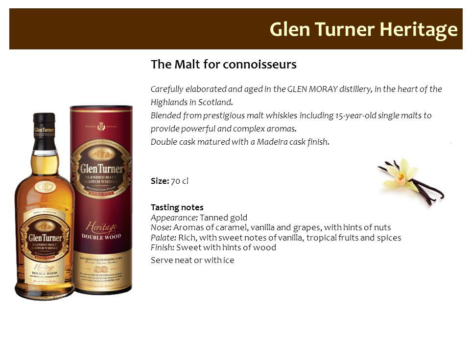 Glen Turner Heritage The Malt for connoisseurs