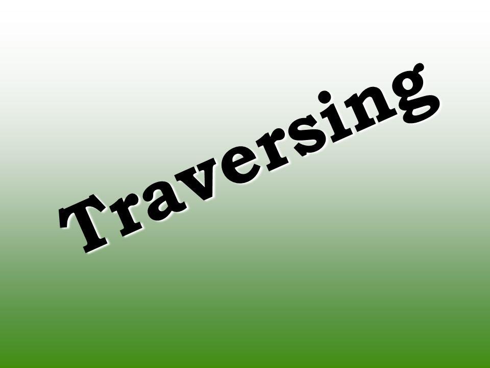 Traversing 1