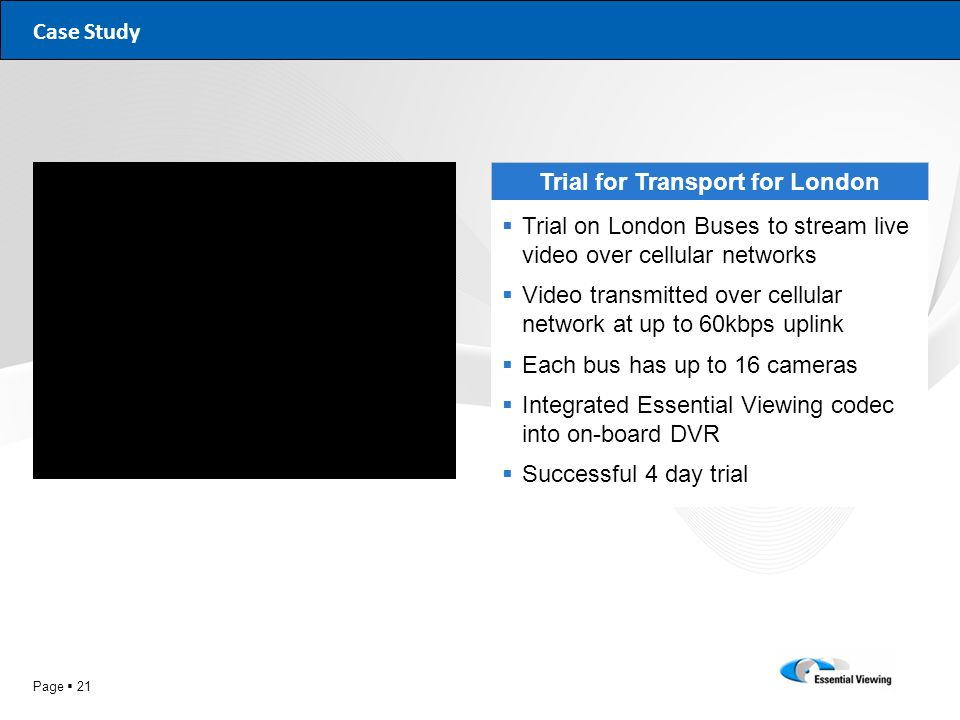 Trial for Transport for London