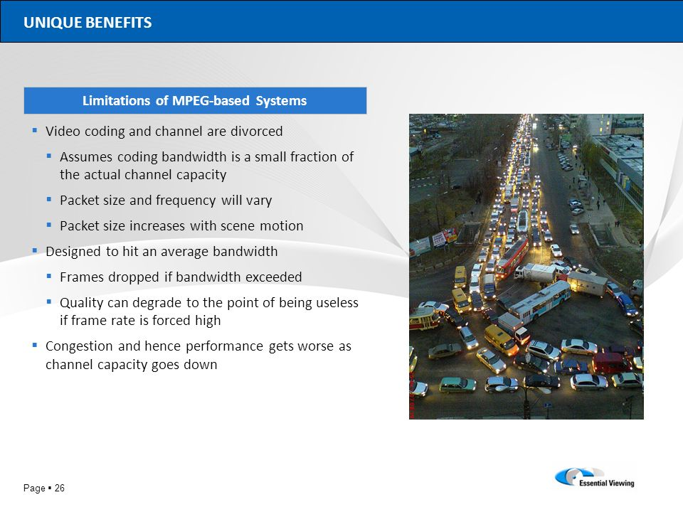 Limitations of MPEG-based Systems