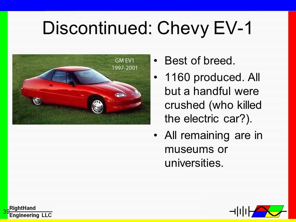Discontinued: Chevy EV-1