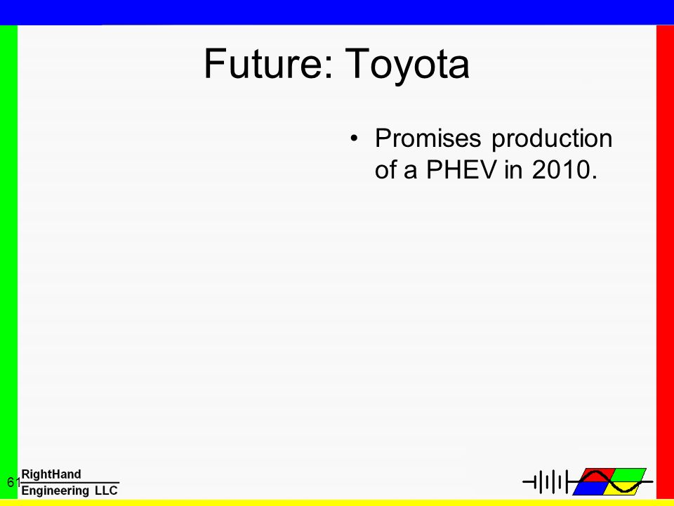 Future: Toyota Promises production of a PHEV in 2010.