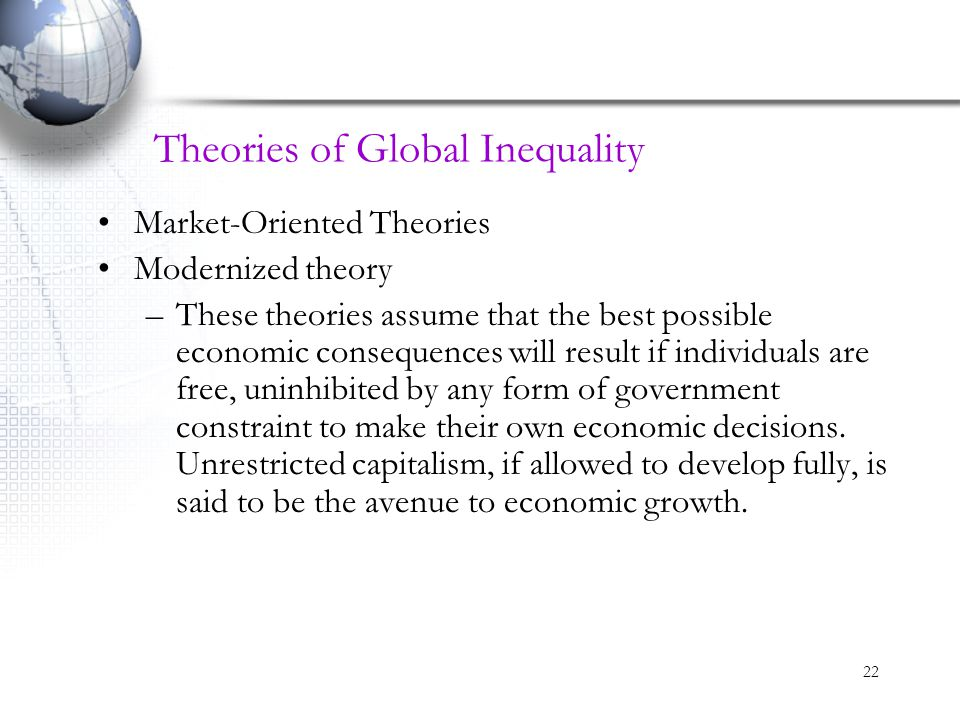 Theories of Global Inequality