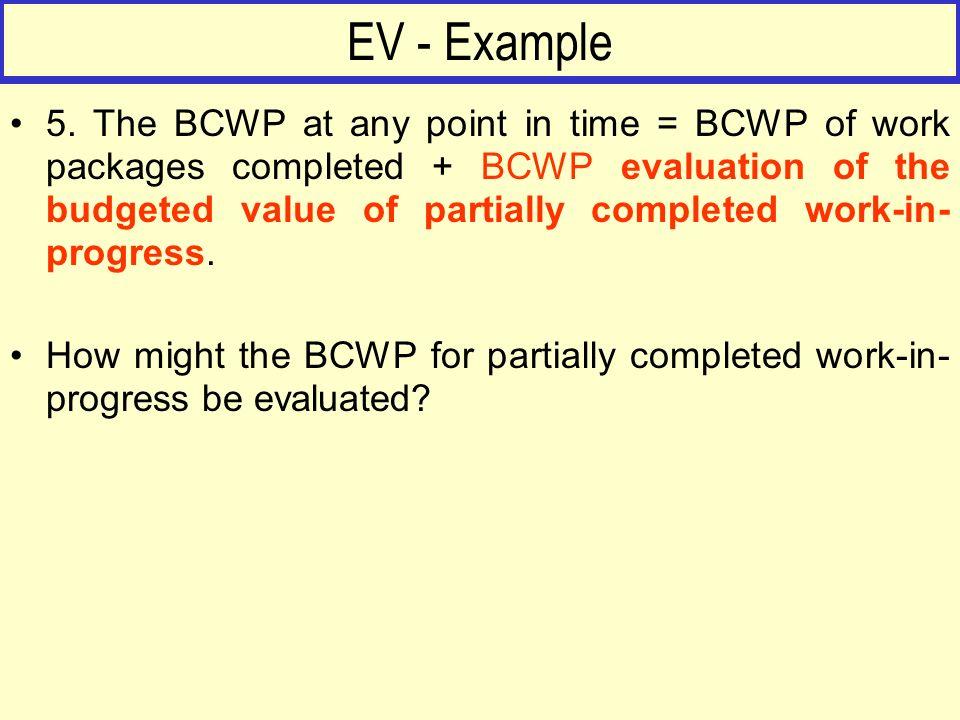EV - Example