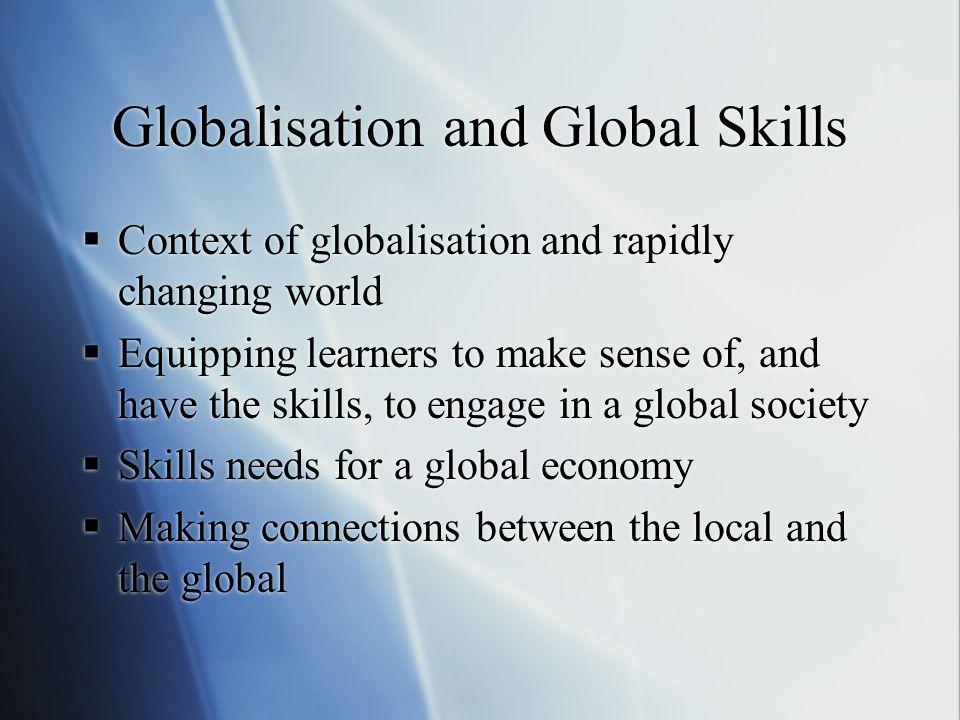 Globalisation and Global Skills