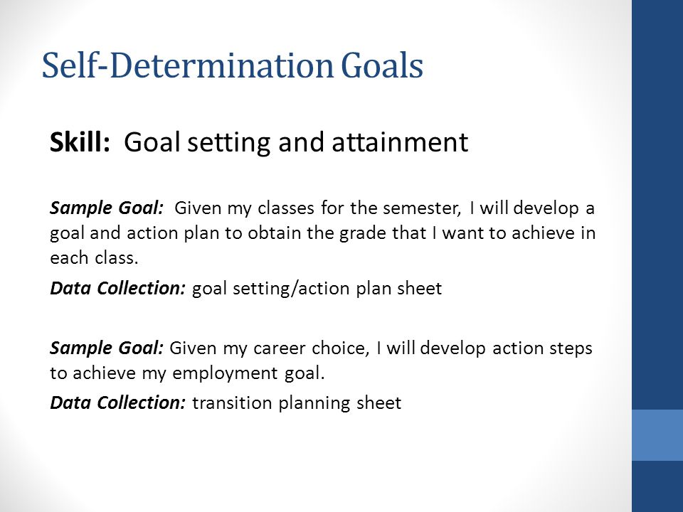Self-Determination: A Toolkit For Teachers - Ppt Video Online Download