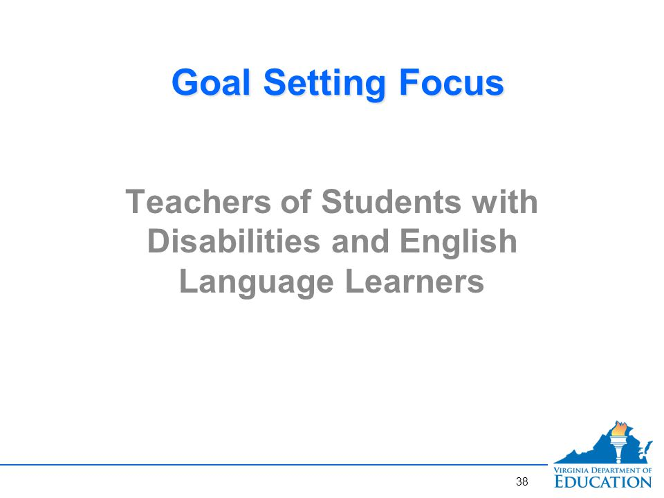 Goal-Setting for Teachers of Students with Disabilities: Considerations